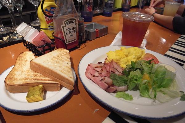 早餐 Bacon & egg