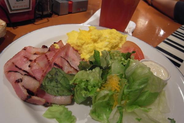 主盤 Bacon & egg