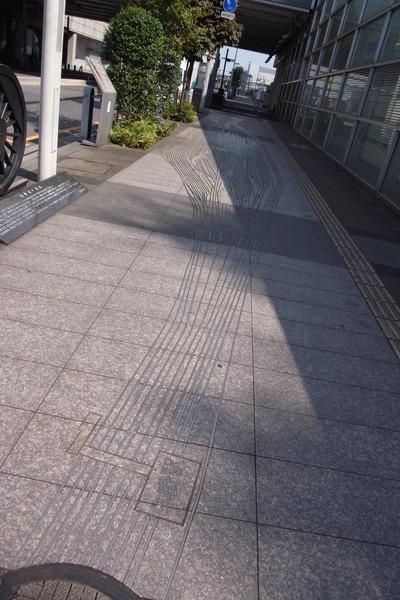 路上鑲嵌路線形狀
