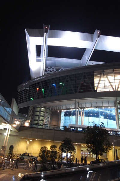 Saitama Super Arena晚上氣氛佳