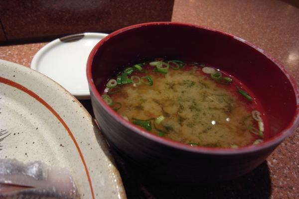 附贈味增湯