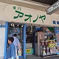 雷門旁街邊的玩具店,專賣宮崎駿小玩藝