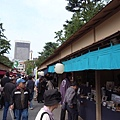 奧山風景裡的商店街