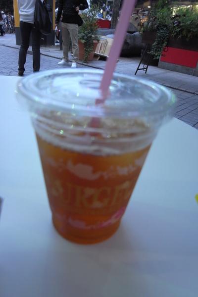 Moa 4 Cafe 冰紅茶