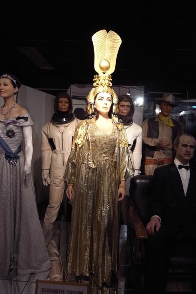 伊莉莎白泰勒的埃及女王扮相