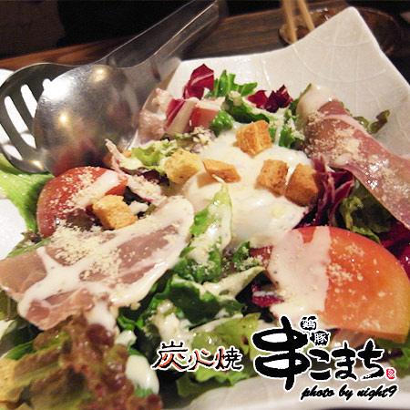 生豚肉沙拉