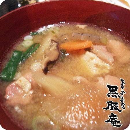 套餐都有附雜煮味增湯