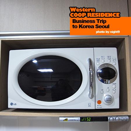 Western COOP RESIDENCE‧微波爐&收音機