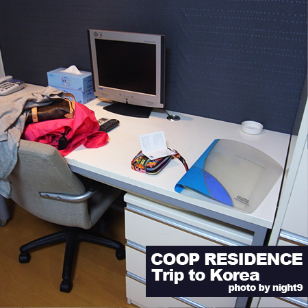 COOP‧房間書桌電視