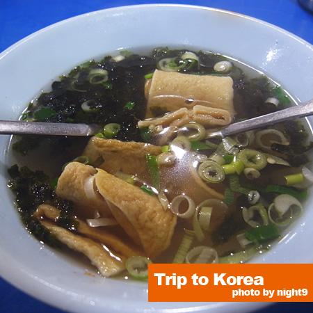 路邊攤‧油豆腐湯
