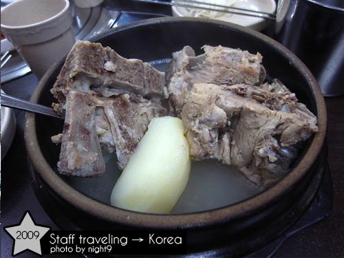 午餐~豬骨馬鈴薯湯