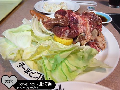 烤肉用食物