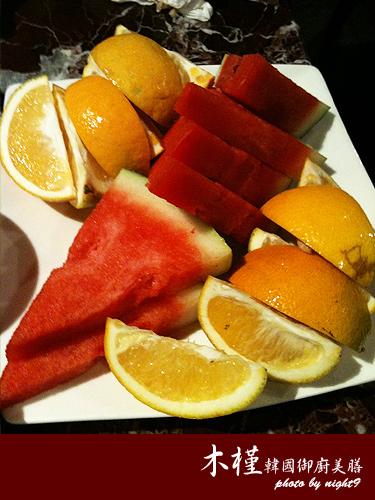 木槿御廚美膳‧水果