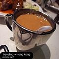 澳門茶餐廳‧熱奶茶