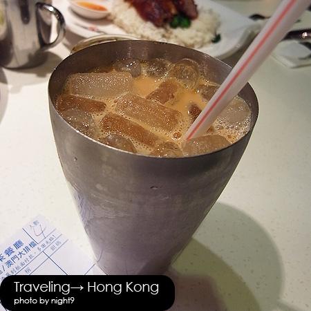 澳門茶餐廳‧凍奶茶