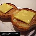 澳門茶餐廳‧鮮油奶醬豬仔包