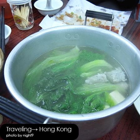 四季煲仔飯‧魚球青菜豆腐湯