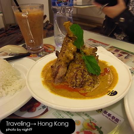 翠華餐廳‧咖哩小羊排