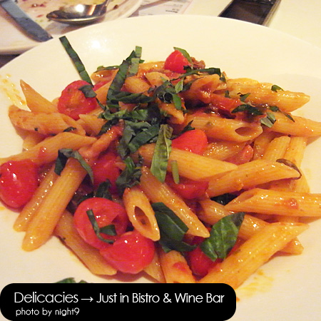 in Bistro & Wine Bar‧蕃茄義大利麵