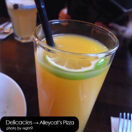 Alleycat's‧柳橙汁