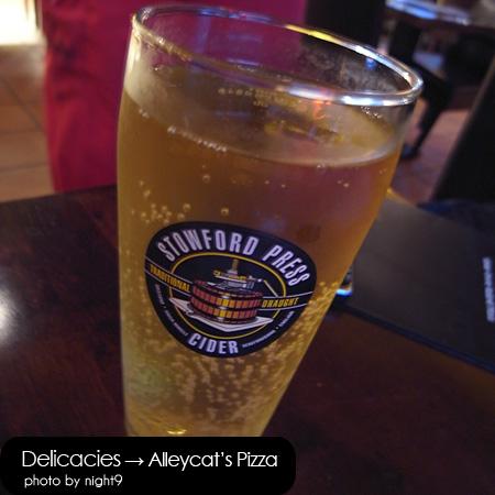 Alleycat's‧英國進口蘋果生啤酒