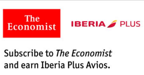 經濟學雜誌(economist):訂閱送Avios