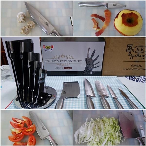 不鏽鋼刀具組-1