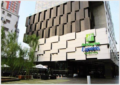 2013曼谷自由行~住宿【Holiday Inn Express Bangkok Siam Hotel】