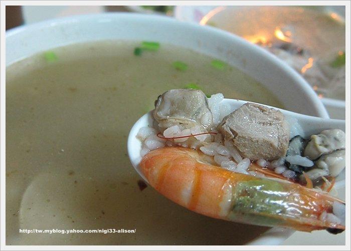 鮪魚海產粥07