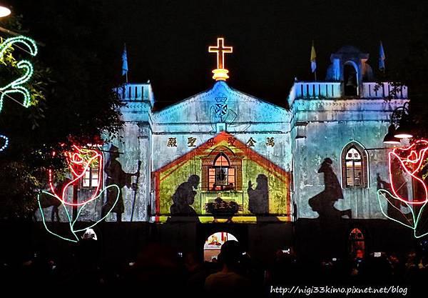 萬金聖母聖殿3D秀