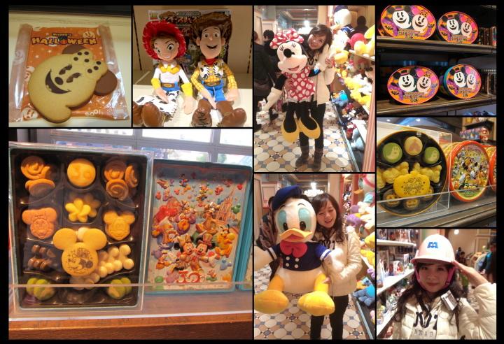 迪士尼樂園禮品店
