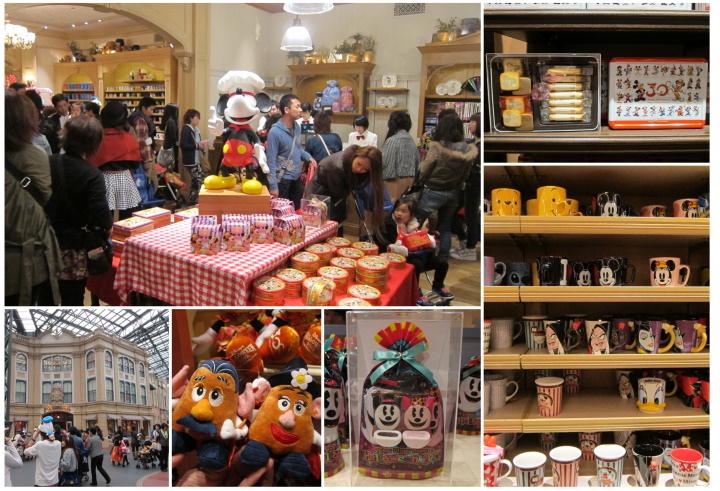 迪士尼樂園禮品店1