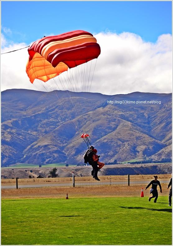 WANAKA跳傘
