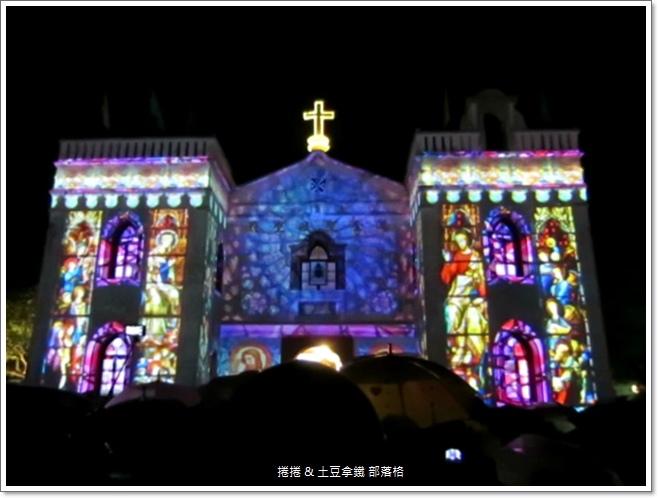 2014萬金聖母聖殿光雕秀 (4)