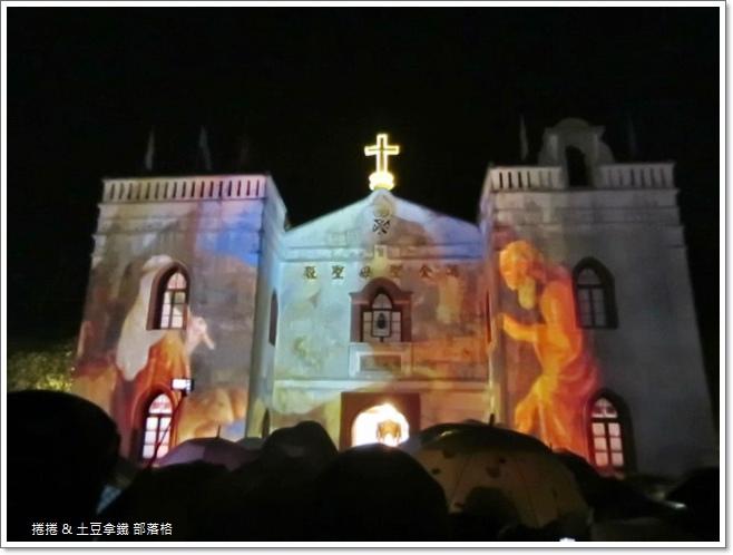 2014萬金聖母聖殿光雕秀 (1)