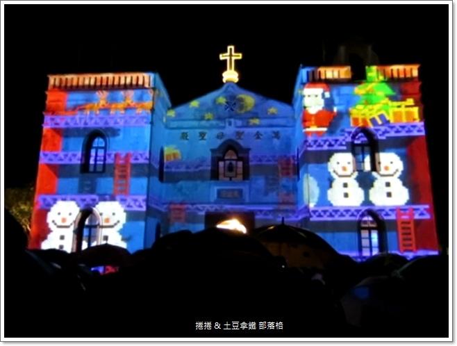 2014萬金聖母聖殿光雕秀 (6)
