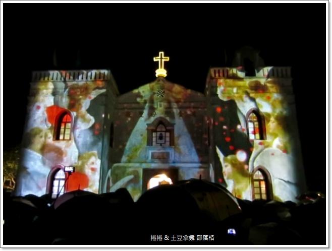 2014萬金聖母聖殿光雕秀 (3)
