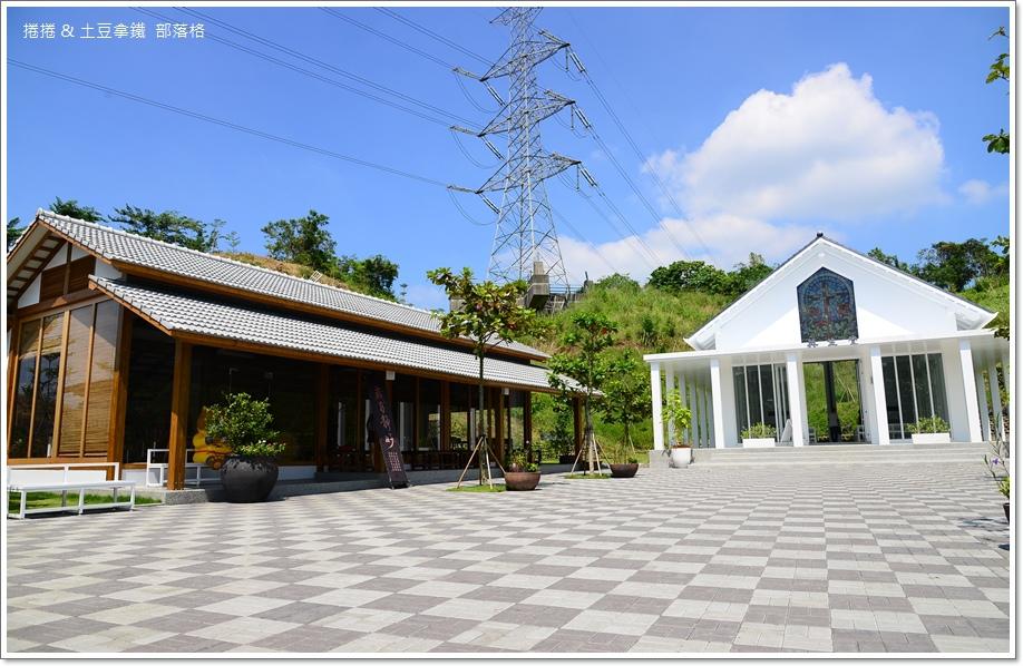 台南隱田山房白色教堂06