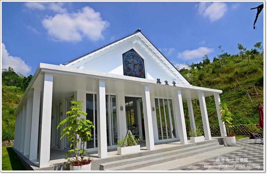 台南隱田山房白色教堂08