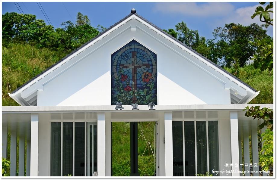 台南隱田山房白色教堂17