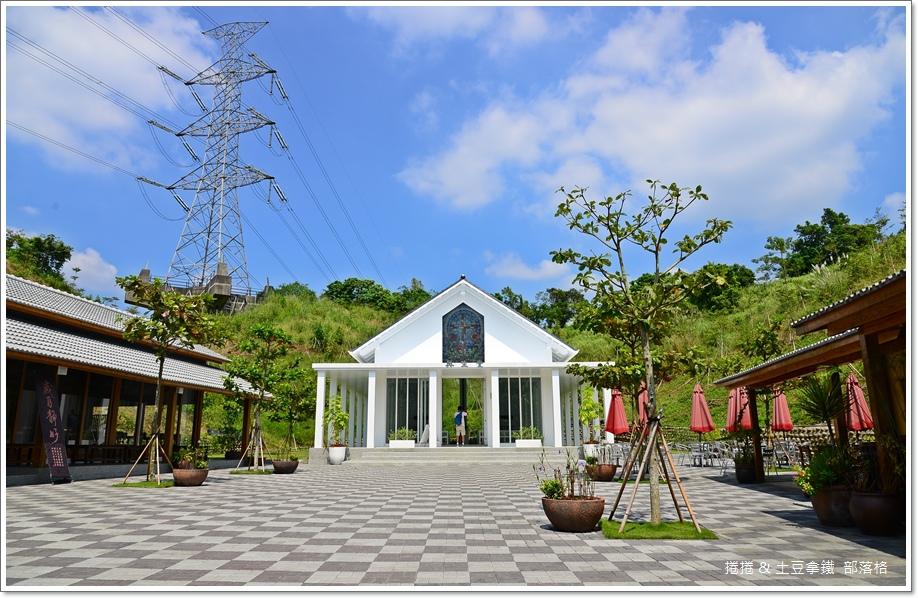台南隱田山房白色教堂18
