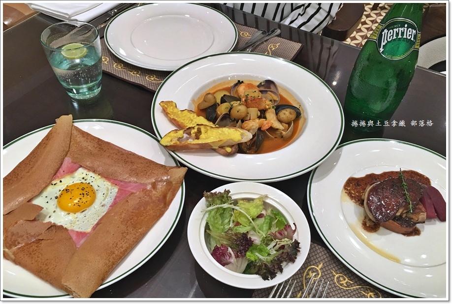 巴黎人Brasserie法式餐廳14.JPG