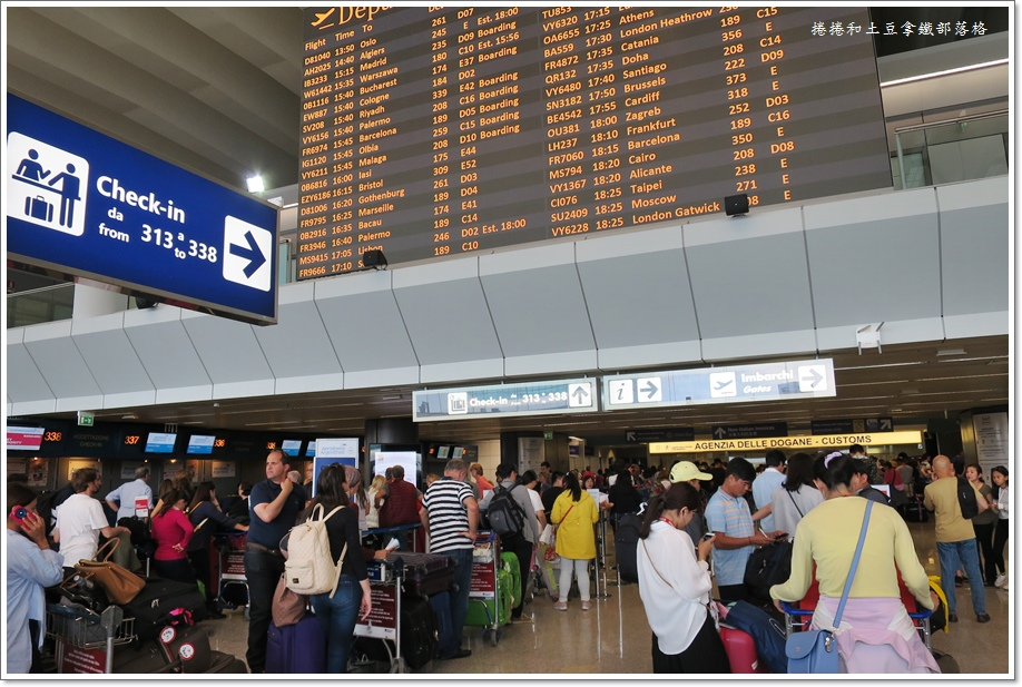 義大利機場退稅-5