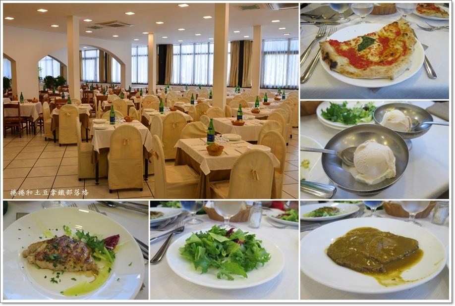 第二天龐貝古城午餐