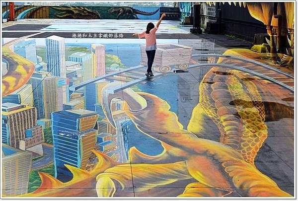 時空之城3D彩繪09