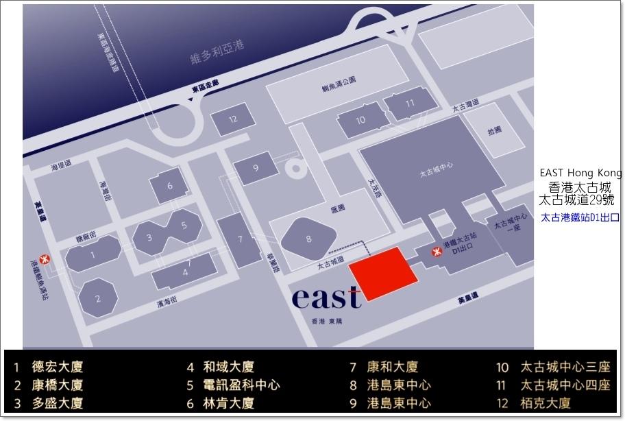 東隅酒店地圖