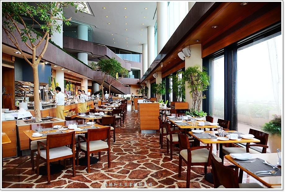 洲際酒店自助早餐 (1)