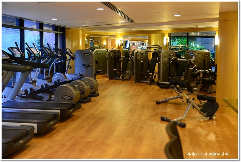 洲際酒店健身房
