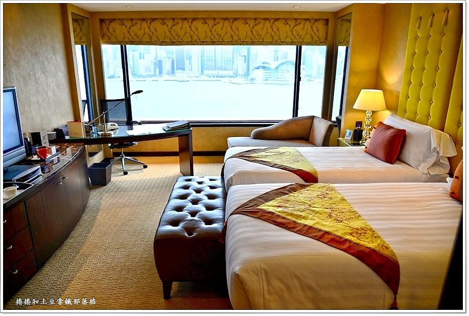 洲際酒店海景房