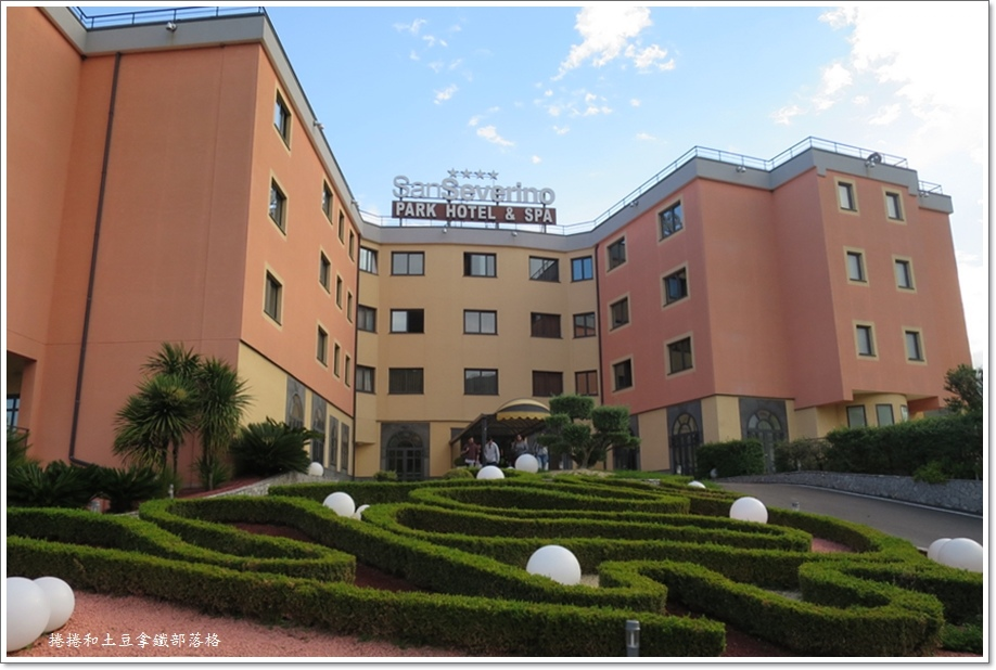 住宿San Severino Hotel